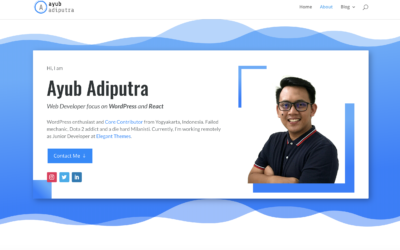 Weekend Project #1 – Revamp My Blog With Divi